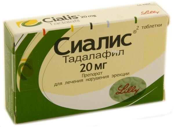 таблетки сиалис применение