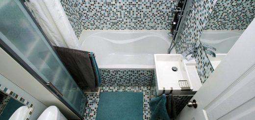 как увеличить пространство в ванной