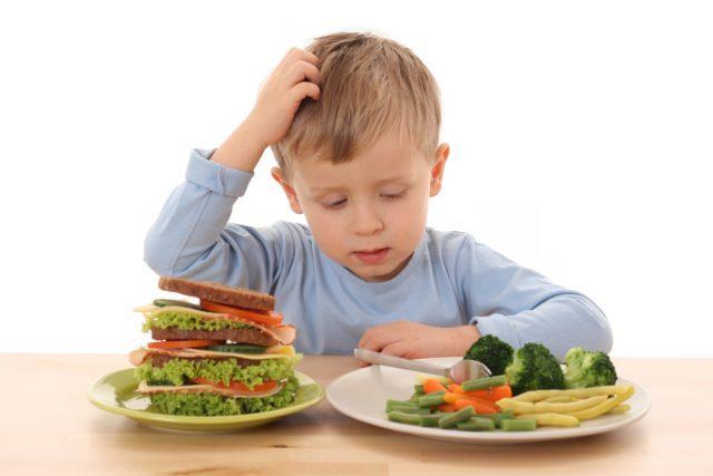 диета при ацетоне у детей