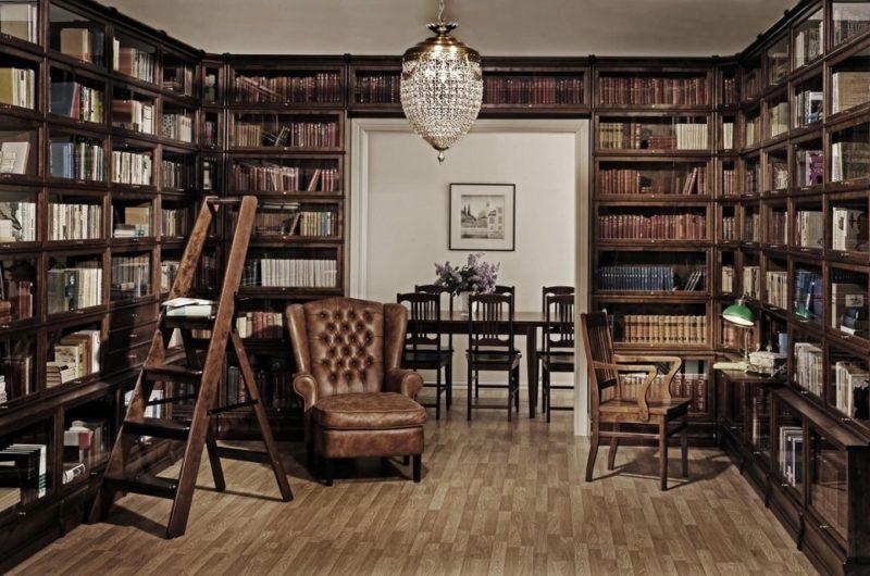 организация домашней библиотеки