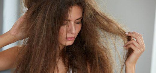 укладка непослушных волос