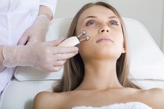 Микротоковая терапия лица электротерапия