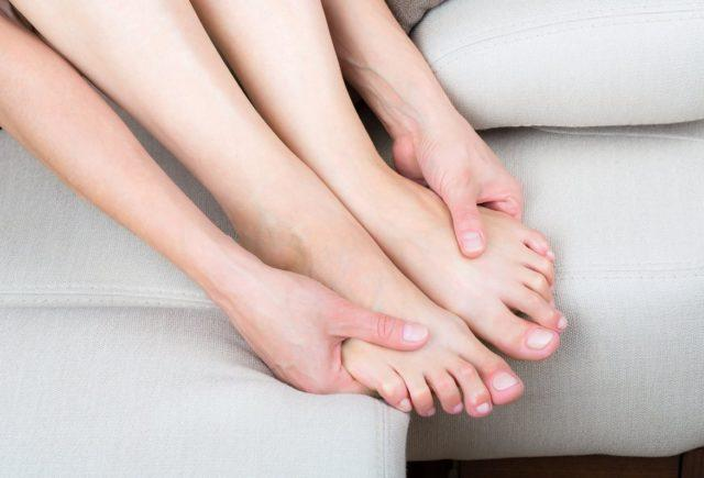 онемение пальцев ног