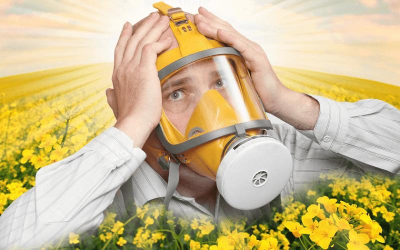 как снять приступ аллергии