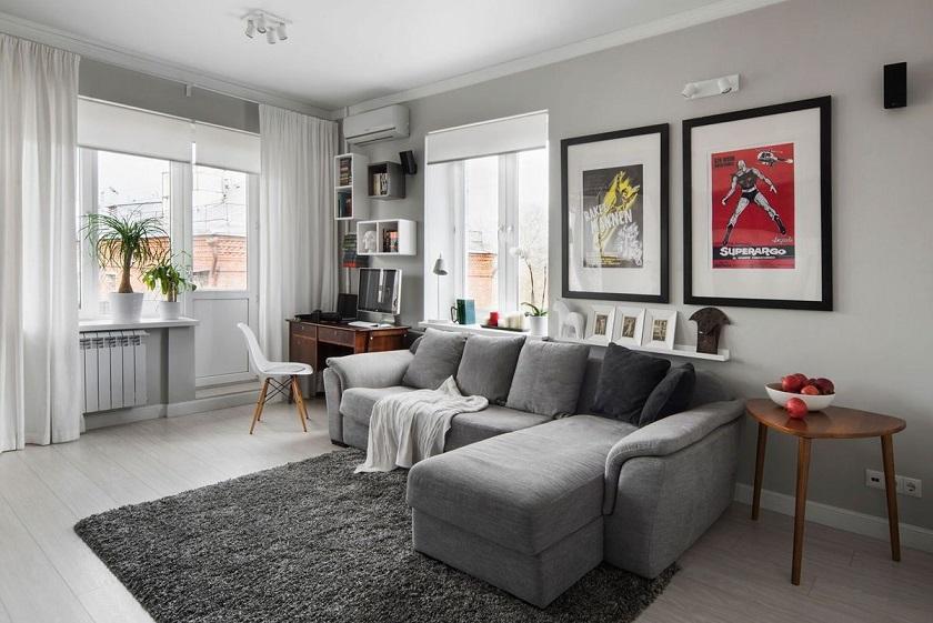 как сделать маленькую квартиру уютной
