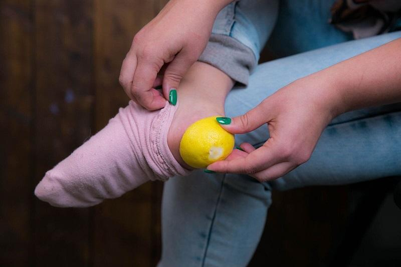 лимон для пяток рецепт